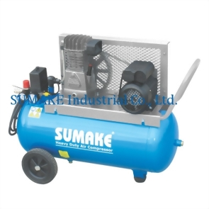 Industrial 1.5HP Air Compressor With 50L Tank