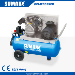 2HP Single Stage Belt Type Air Compressor with 50L Tank