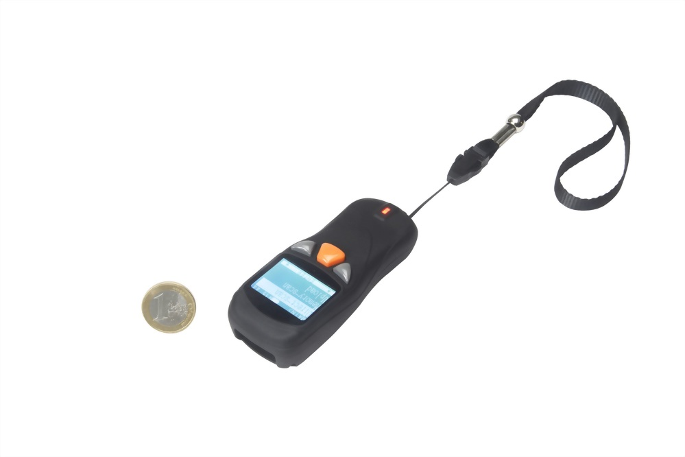 Pocket barcode scanner can connect to PC,