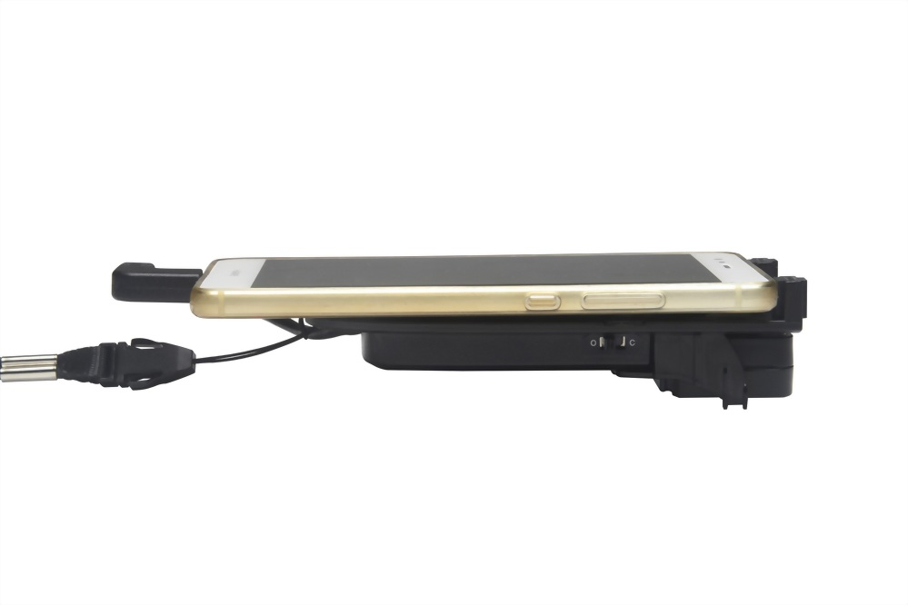 Jacket-type scanner for Android smartphone use.