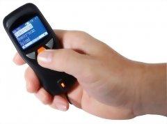 1D Pocket Barcode Scanner with Display, RIOTEC iDC9607A, Bluetooth Pocket Barcode Scanner, Portable Barcode Scanner