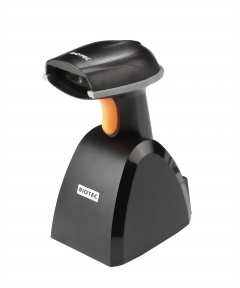 RIOTEC iLS6308KBU/KBQ, Wireless 2D Barcode Scanner with Cradle, Bluetooth Barcode Scanner