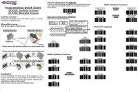 DC9250 / DC9260 Mobile Barcode Scanner-1D Laser