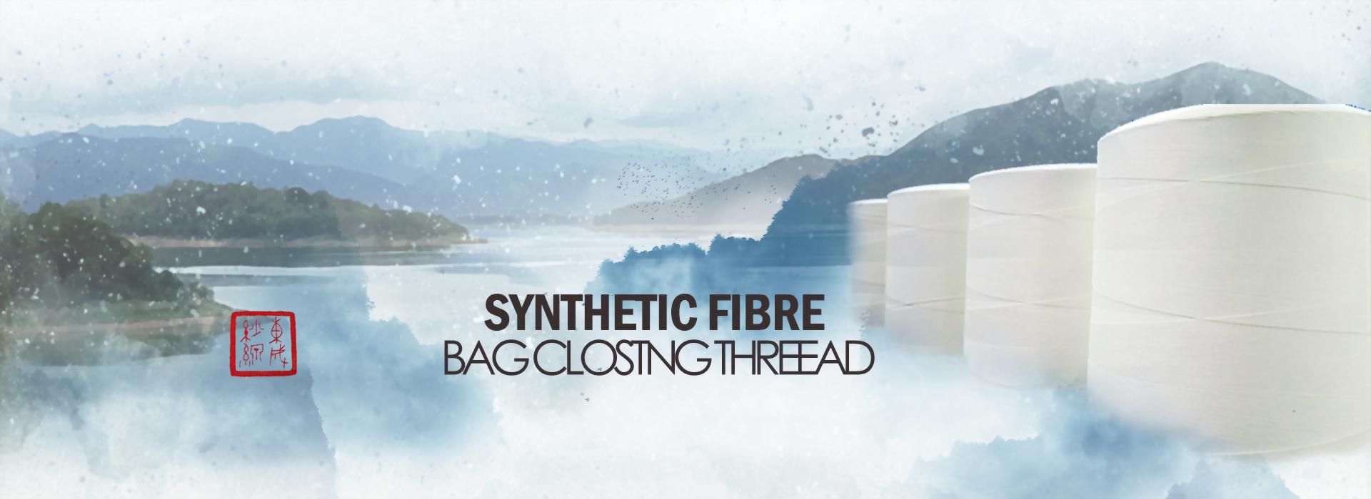 Bag closing thread manufacturer
