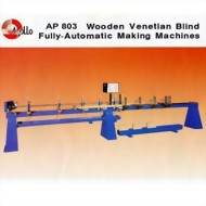 AP803 / AP805 : Blind Making Machines-Wood Blinds
