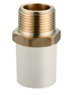 13-03-12-Male Adpter (Copper Threaded)