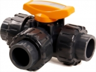 13-09-02-3 Way True Union Ball Valve