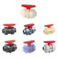 13-09-08-PVC/CPVC/PP True Union Ball Valves