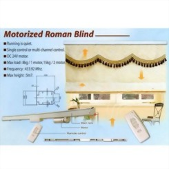 Motorized Roman Blind