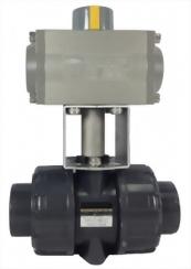 13-09-04-Pneumatic Actuator True Union Ball Valve
