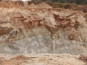 Potash Feldspar mine