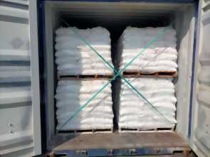 Potash feldspar packing