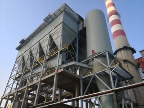 Ceramic filter-dust collector application