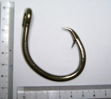 Stainless Tuna Circle Hook with ring