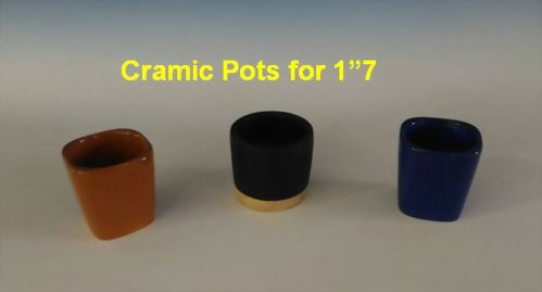 "Cramic Pots for 1""7"