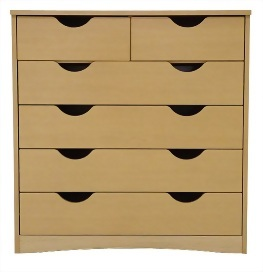 4 wide and 2 narrow drawer chest