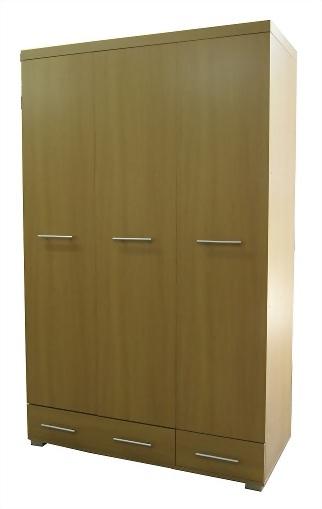 3 door 2 drawer wardrobe