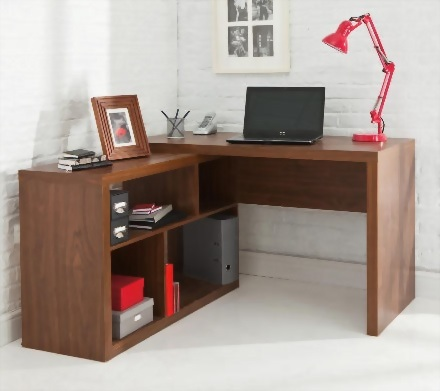 Seattle Corner Desk with storage