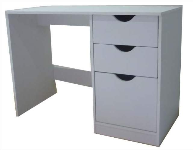 3 Drawer Basic Desk