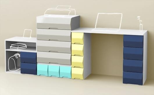 4 Drawer Storage Chest