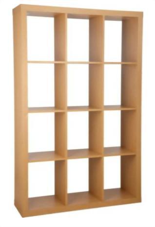 Rita Room Divider Bookcase
