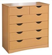 Haven 4 Wide and 2 Narrow Drawer Chest
