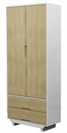 2 Door 2 Drawer Wardrobe