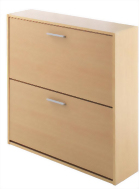 Compton Shoe Storage Cabinet 2 Door
