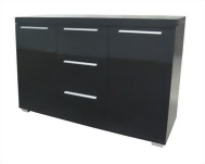 Milan High Gloss Sideboard Large