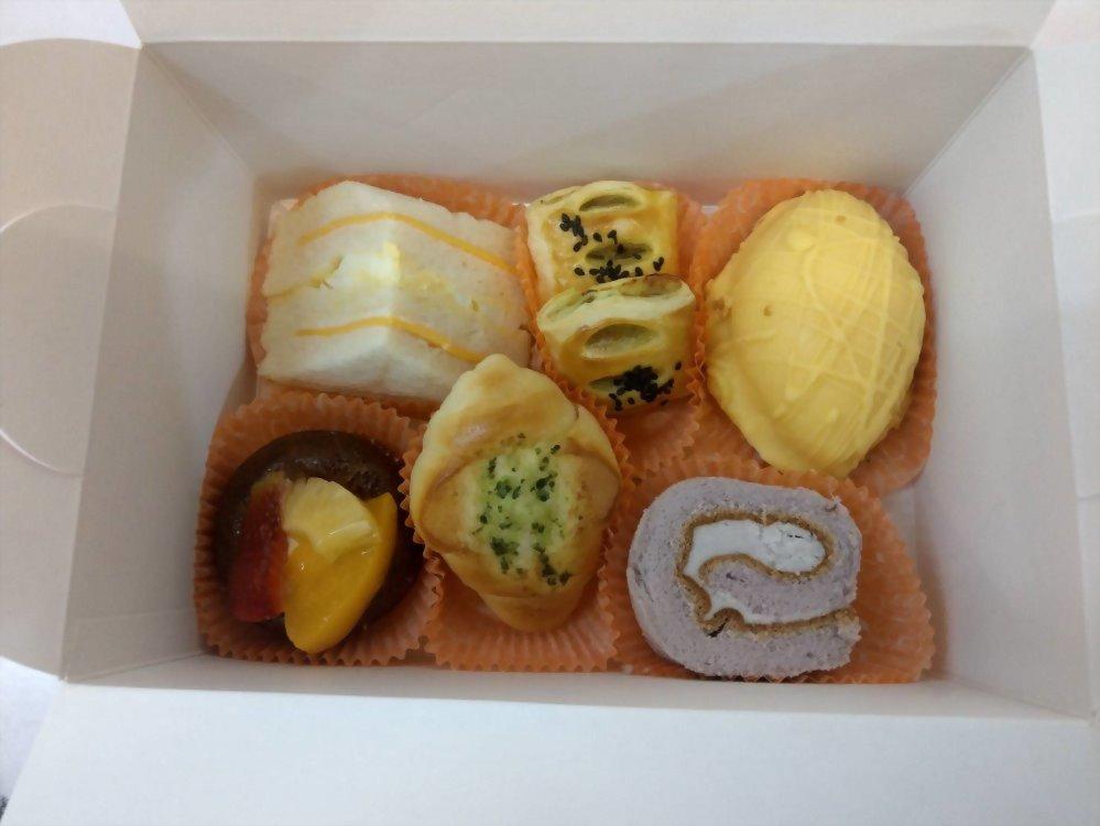 麵包餐盒 | 優仕紳小茶點心餐盒01