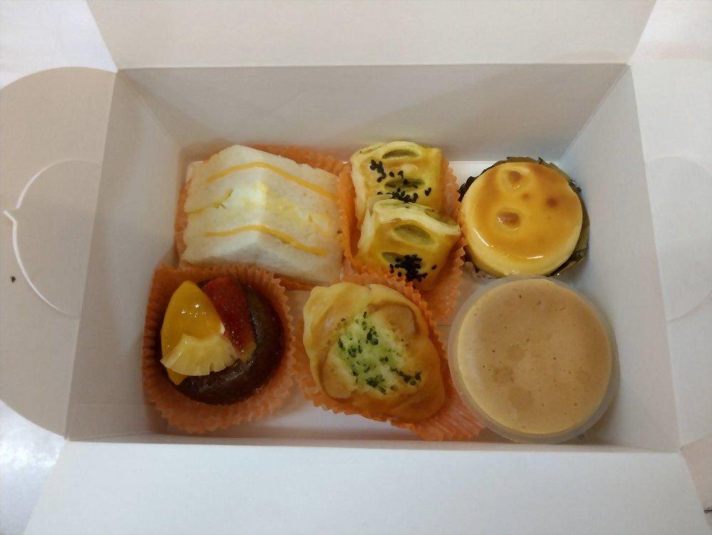 麵包餐盒 | 優仕紳小茶點心餐盒02(不單個包裝)