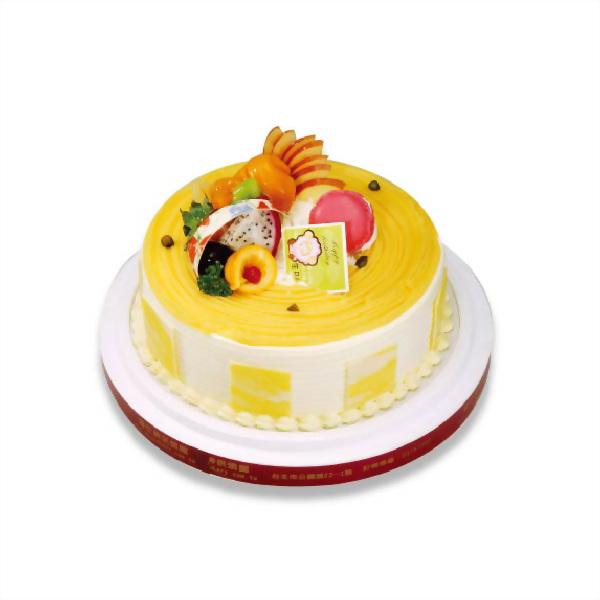 生日蛋糕 | 優仕紳日式栗子蛋糕