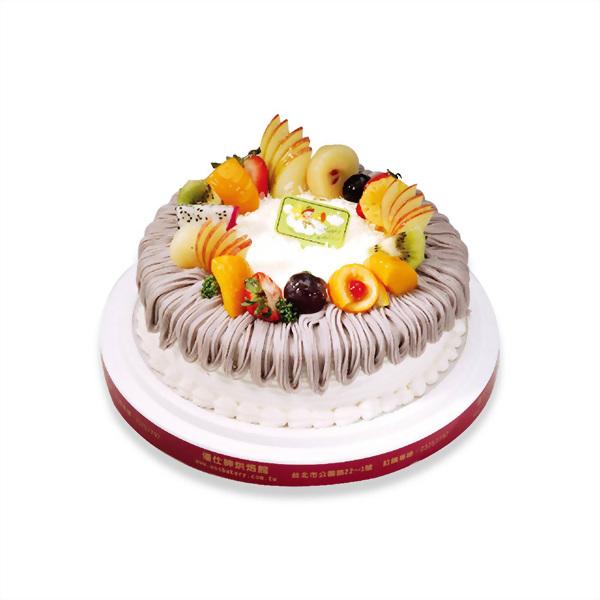 生日蛋糕 | 優仕紳紫戀蛋糕