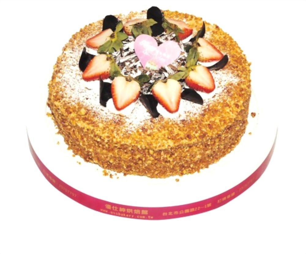 生日蛋糕 | 優仕紳焦糖瑪琪朵蛋糕