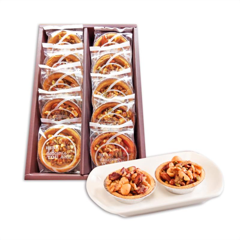 [推薦]中秋月餅 | 優仕紳中秋月餅推薦您堅果塔禮盒