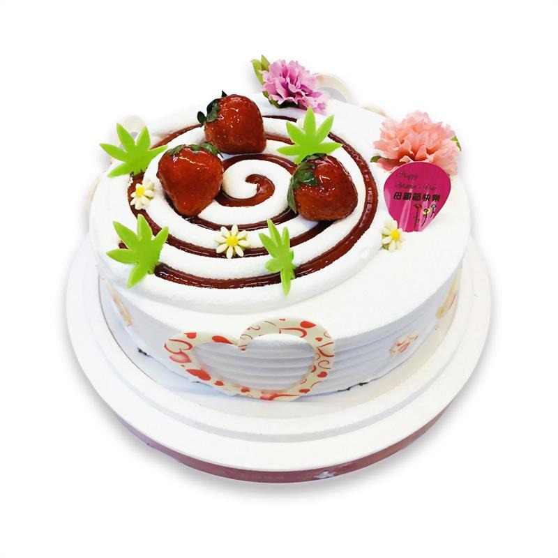 [推薦]母親節蛋糕 | 優仕紳麵包母親節蛋糕推薦您我愛媽咪蛋糕