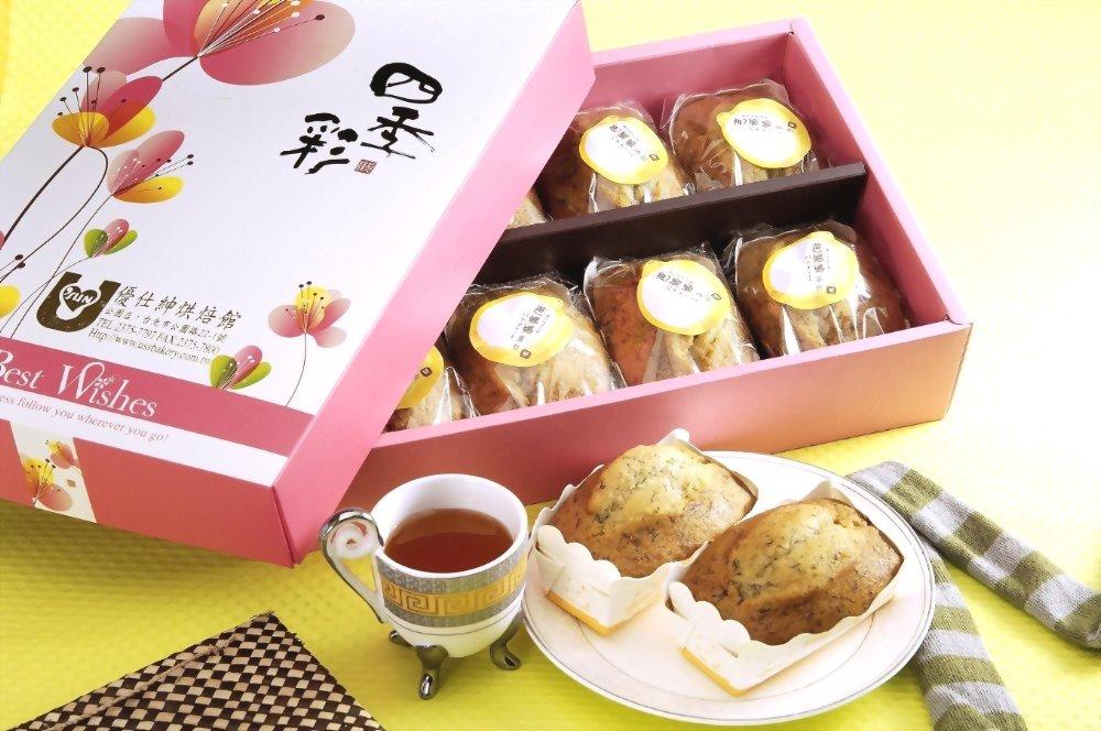 [台北伴手禮] | 優仕紳芭娜娜蛋糕禮盒8入