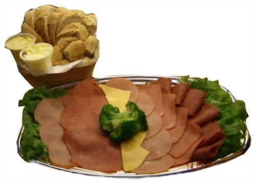 宴會餐點   優仕紳什錦火腿拼盤&養生雜糧麵包