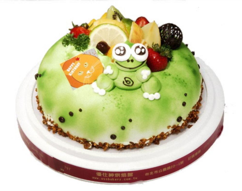 生日蛋糕 | 優仕紳大眼蛙蛋糕