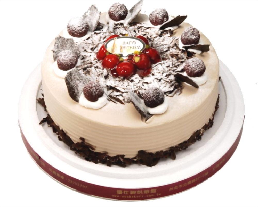 生日蛋糕   優仕紳黑森林蛋糕