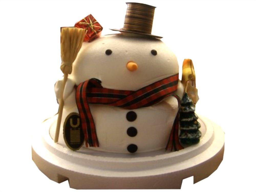 造型蛋糕 | 優仕紳耶誕雪人蛋糕