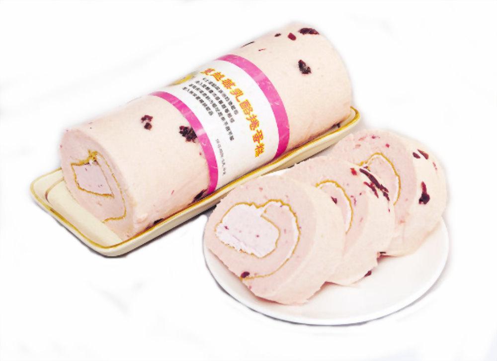 彌月蛋糕 | 優仕紳蔓越莓奶凍捲