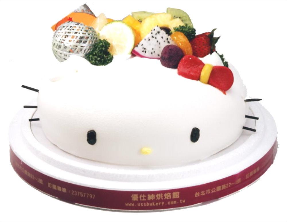 造型蛋糕 | 優仕紳Kitty蛋糕
