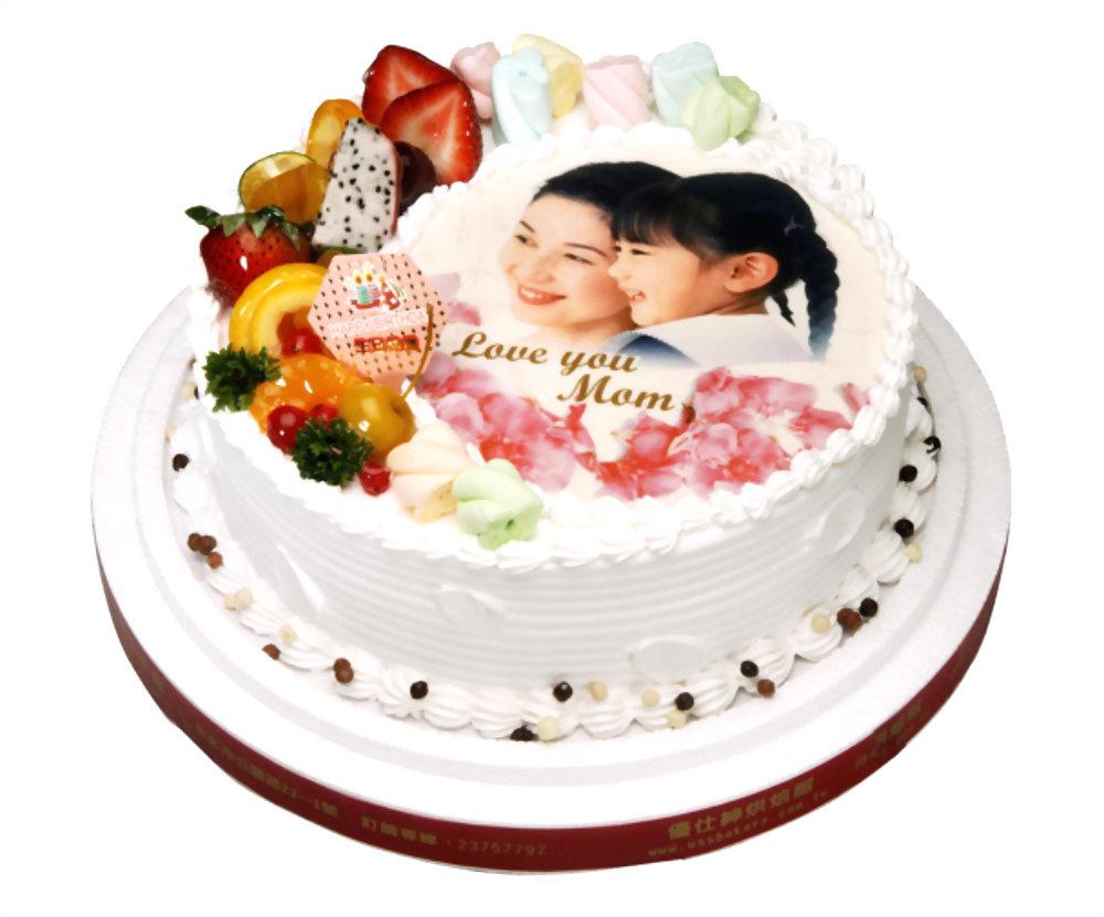 生日蛋糕 | 優仕紳相片蛋糕