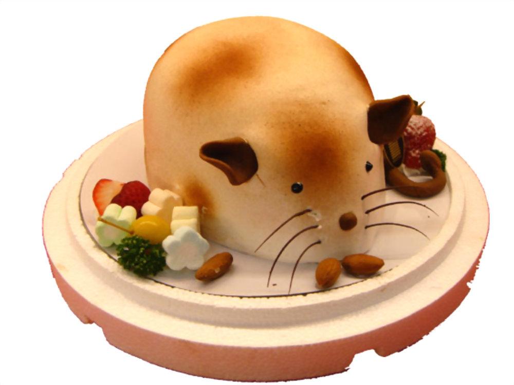 造型蛋糕   優仕紳金鼠蛋糕