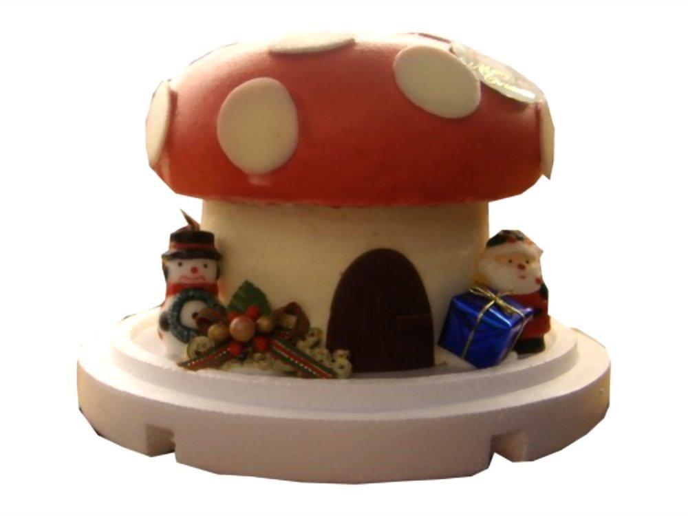 造型蛋糕 | 優仕紳紅磨菇蛋糕