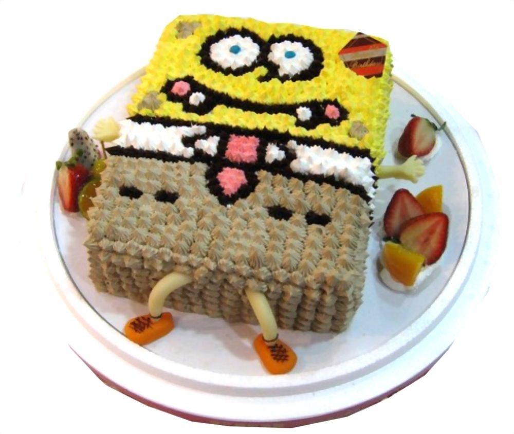 造型蛋糕 | 優仕紳海綿寶寶蛋糕