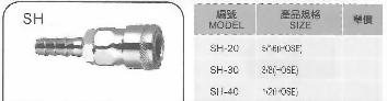 SHC式快速接頭(鐵.銅.鋅.白鐵)