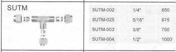 SUTM不銹鋼管接頭