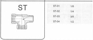 SUS不銹鋼接頭-ST